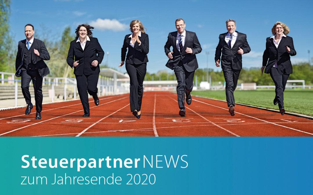 Unsere Steuerpartner NEWS sind da!
